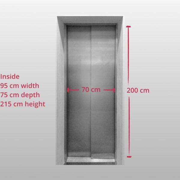 Quovadis Munich Elevator