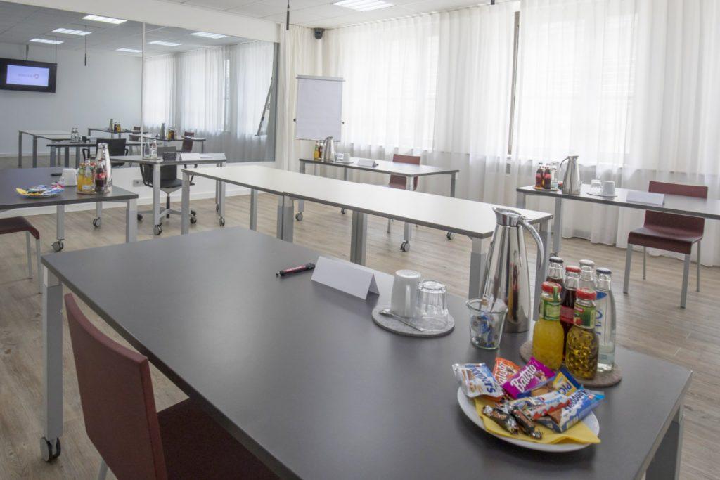 Quovadis Hygienekonzept: GD Raum mit über 150 cm Abstand