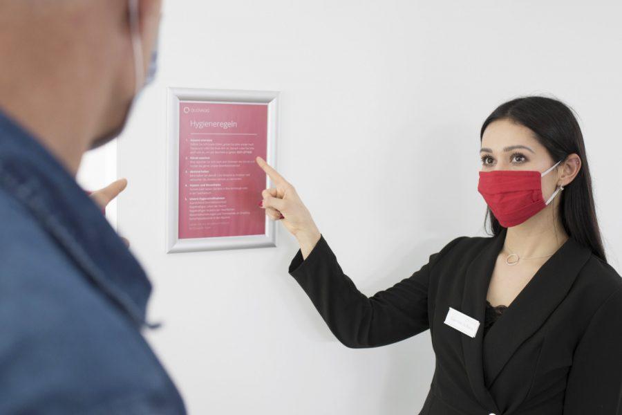 Quovadis Hygienekonzept Hygieneregeln