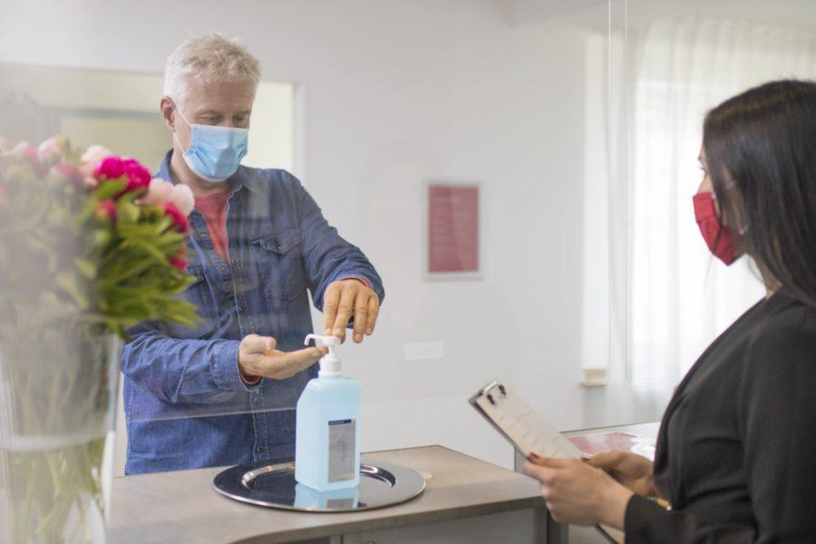 Quovadis Hygienekonzept Desinfektion Sterilium